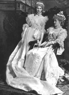 Lady Cardross and Muriel Erskine- The Devonshire House Ball, 2 July 1897