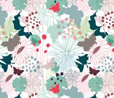 Wonderland by demigoutte on spoonflower