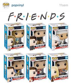 Hello, and welcome to Pop Vinyl List, the ideal community forum for Funko Pop fans. We are a brand new website created to offer a space where fans can share their love for Funko Pop toy seri… Disney Pixar, Disney Pop, Serie Friends, Friends Show, Drama Total, Funko Pop Dolls, Pop Figurine, Custom Funko Pop, Funk Pop