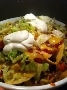 Nacho Platters Create yours like now - JAHzKitchen Cilantro Cream Sauces, Breakfast Nachos, Seven Layer Dip, Green Lettuce, Creamed Onions, Recipe Tonight, Taco Sauce, Nacho Cheese, Cheese Platters
