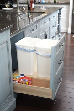 Kitchen Cabinet DIY Ideas - CLICK PIN for Many Kitchen Cabinet Ideas. 68895842 #cabinets #kitchenisland