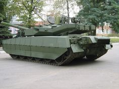 T-84 Oplot Ukrainian main battle tank.