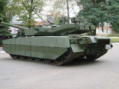 T-84 Oplot Ukrainian main battle tank.