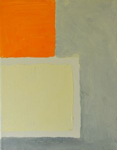 1stdibs   Nico Smith - Abstract Painting - Destyl in Gray, White and Orange