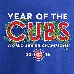 315b671f3c1 Chicago Cubs 2016 World Series Champions Year of the Cubs T-Shirt - Royal