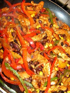 Healthy Chicken Fajitas Tried and liked!