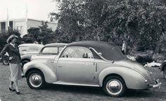 Ford Taunus (1939-1942, 1948-1952) als Cabriolet (zweisitzig), Karosserie Deutsch