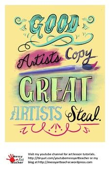 This Is A Set Of 1 Artroom Poster That Prints On 11x17 Sheet Of Paper These Posters Can Brighten Up A Wall And Provide Art Lessons Elementary Easy Art Lessons