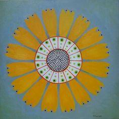 sunflower by StudioMagentaVF on Etsy