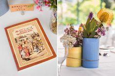 vintage-wedding-dress-sydney-harbour-bride10 - painted tins