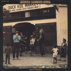 Creedence Clearwater Revival - Willy And The Poor Boys (LP, Album, RE, 180) 2015