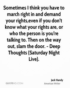 deep thoughts by jack handey quotes - Google Search