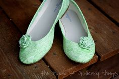 Refinished Shoes. The Magic of Ordinary Things: MODGE-PODGE SHOES