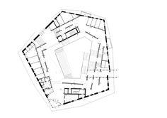 Biblioteca e Mediateca Dalarna,Planta - 2º Pavimento