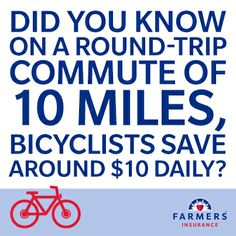 Happy National Bike to Work Day! Here's one reason why it's smarter to bike than drive.
