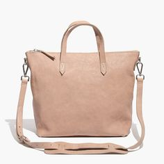 Madewell The Zip Transport Tote In Washed Leather Madewell Transport Tote, Madewell Bags, Travel Tote, Tote Handbags, Fashion Accessories, Tote Bag, Crossbody Bags, Zip, Purses
