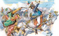 À la bataille d'Aboukir, Murat capture Mustapha Pacha/At the Battle of Aboukir, Murat capture Mustapha Pasha