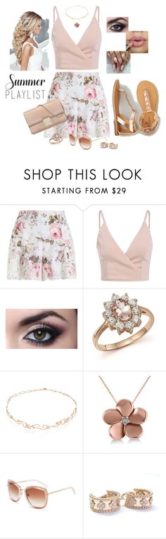 """Contest:  floral shorts"" by tippy1717 ❤ liked on Polyvore featuring Zimmermann, Bloomingdale's, Diane Kordas, Allurez, Kate Spade, Van Cleef & Arpels, American Eagle Outfitters and Christian Dior"