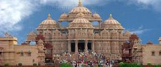 Akshardham Mandir of Delhi – a large exhibit of religion, culture, tradition, and architecture