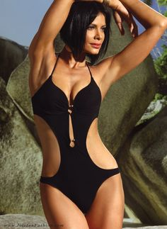 d191a45d20a5a Black Cutout Monokini Swimsuit - 2013 Jolidon Swimwear Best Swimsuits
