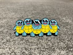 """- inches - backstamped """"POCKETPINZ"""" - double rubber clutch - hard enamel - comes in silver metal or gold metal Pokemon Craft, Pokemon Pins, Cute Patches, Pin And Patches, Squirtle Squad, Cute Pokemon Wallpaper, Cute Backpacks, Mini Things, Metal Pins"""