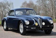 Alfa Romeo 6C 2500 SS Touring Villa d'Este Coupé