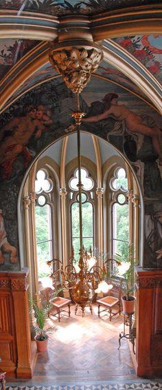 Schloss Drachenburg, Königswinter, North Rhine-Westphalia, Germany - interior - built late 19th century