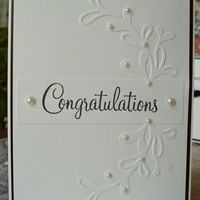 Item #3569 · Congratulations · Heart Prints
