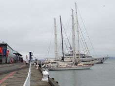 Yachts anchored during America's Cup - Embarcadero San Francisco 10k by the San Francisco Locals Guide
