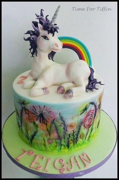 Unicorn cake  - Cake by Time for Tiffin