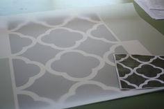 Creative Chaos: Silver Home Office/ Craft Room. Alternate Title: Cursing Quatrefoil!