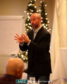 Speaking in front of 70+ business professionals. Contact me at rich@richlohman.com if you need a keynote speaker.