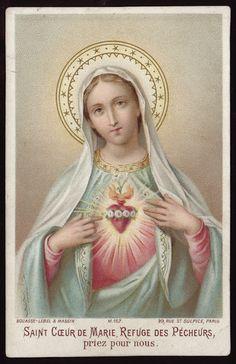 ...priez pour nous.    Holy Card Heaven