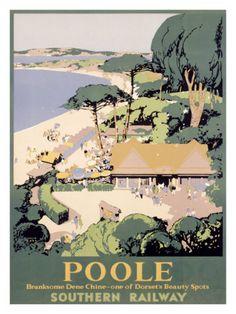 Southern Railway, Poole Giclee Print
