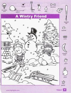 """Who doesn't remember """"Highlights"""" Magazine in grade school?  Jim Hunt illustrated!  Huh!"""