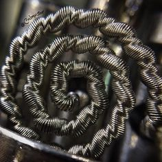 Previous wire concept coiled. I'm just going to call the wire, constricted tidal…