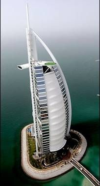 The Burj in Dubai...a very cool place to visit indeed. The see through elevator is crazy!