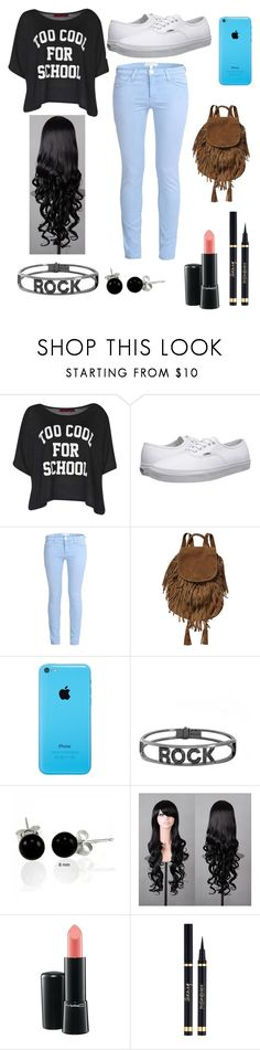 """conjunto 26"" by soltoscano2000 on Polyvore featuring Belleza, Boohoo, Vans, Current/Elliott, Scotch & Soda, Spallanzani, Bling Jewelry y MAC Cosmetics"