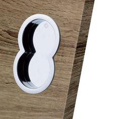 European Manital Otto ART84 Sliding Door Flush Pulls (Pair)