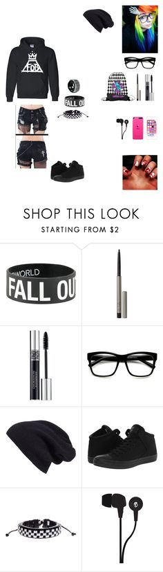 """""""OUTFIT FOR ME,ANYONE ELSE"""" by killjoy2004 ❤ liked on Polyvore featuring Ilia, Christian Dior, ZeroUV, Halogen, Converse and Skullcandy"""