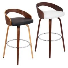 Grotto Wood Barstool