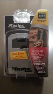 Masters external wall mount Key safe RRP 52.90 | Other Home & Garden | Gumtree Australia Logan Area - Underwood | 1068992639