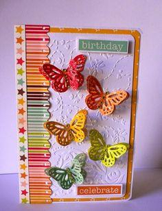Birthday Butterflies Save the Date Adriana Bolzon
