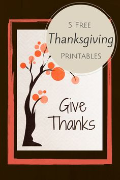 5 Free Thanksgiving Printables for Thanksgiving! If you are looking for a super inexpensive DI… Free Thanksgiving Printables, Thanksgiving Quotes, Thanksgiving Crafts, Thanksgiving Decorations, Fall Decorations, Holiday Decor, Free Printables, Sharpie Art, Fall Diy