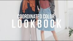 COORDINATED COLOR LOOKBOOK / 90Shades