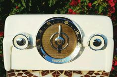 Restored: 1949 CROSLEY Dashboard Vintage Antique Classic Tube Radio- Works Great #Crosley