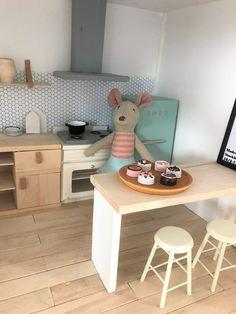 Keuken van het poppenhuis – Skattich