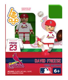 David Freese - St Louis Cardinals, Minifigure