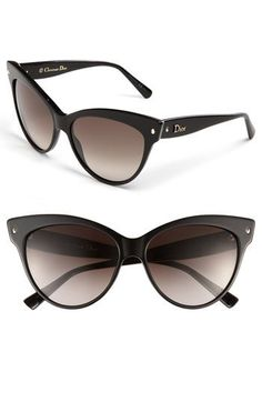 Dior Dior 'Mohotani' 58mm Cat Eye Sunglasses available at #Nordstrom