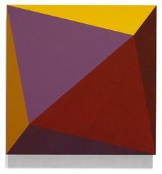 Ronald Davis - Triangle Twist, 2009